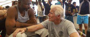 Migranti, Richard Gere a bordo della Open Arms