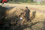 Sotterrano rifiuti speciali, i carabinieri di Montalto sorprendono tre persone