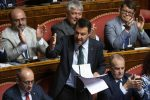 """Crisi di governo, Salvini al Senato: """"Rifarei tutto quello che ho fatto"""""""