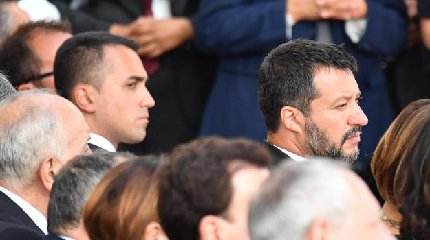 governo, lega, movimento 5 stelle, Giuseppe Conte, Luigi Di Maio, Matteo Salvini, Sicilia, Politica