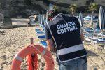 Strutture balneari abusive, scatta il sequestro sulle spiagge di Tropea e Ricadi
