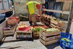 Messina, blitz in viale Europa: sequestrati 1000 chili di prodotti ortofrutticoli - Foto