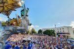 Vara, la processione per le strade di Messina - Live
