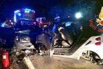 Incidente a Nocera Terinese, coinvolte tre auto: tre feriti gravi