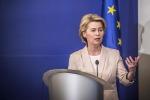 Ue: Pompeo a Bruxelles vede presidente eletta von der Leyen