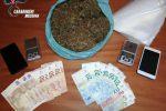 Spaccio di droga a Messina, scattano due arresti
