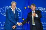 Ue: Sassoli incontra Gentiloni a Bruxelles - Copyright: Parlamento europeo