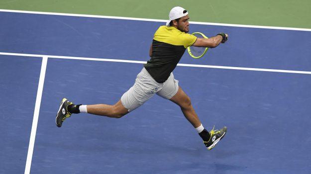Berrettini in semifinale, us open, Matteo Berrettini, Rafa Nadal, Sicilia, Sport