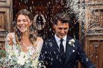 La Chiabotto si sposa, l'ex Miss Italia in abito bianco sui social