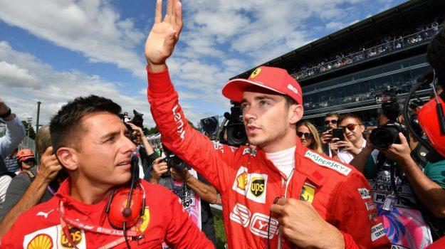 f1, ferrari, Charles Leclerc, Sicilia, Sport
