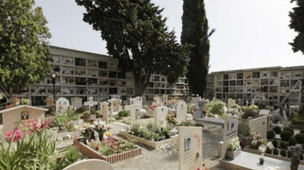 acqua piovana, catanzaro, cimitero, loculi, protesta, Catanzaro, Calabria, Cronaca