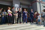 Entusiasmo e grande festa a Dasà, inaugurato il rinnovato istituto scolastico - Foto