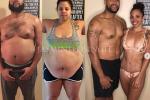 Addio a patatine e Netflix, coppia perde 220 kg: le foto della trasformazione