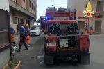 Incendio in una lavanderia a Catanzaro, in fiamme un'asciugatrice