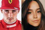 Leclerc, il pilota della Ferrari lascia l'ex per Charlotte Sinè