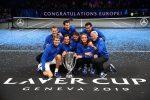 Tennis, l'Europa vince ancora la Laver Cup: decisivi Federer e Zverev