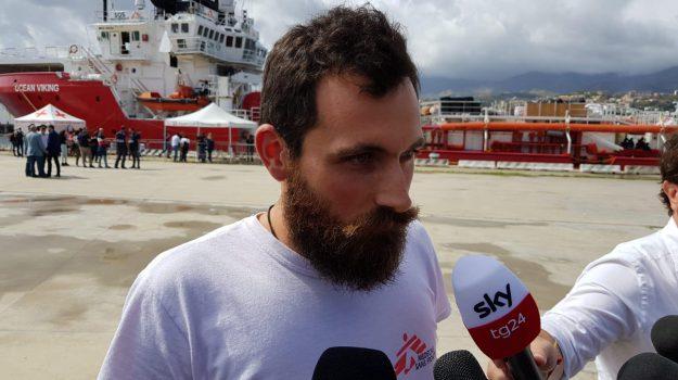 migranti, Ocean Viking, Luca Picozzi, Messina, Sicilia, Cronaca