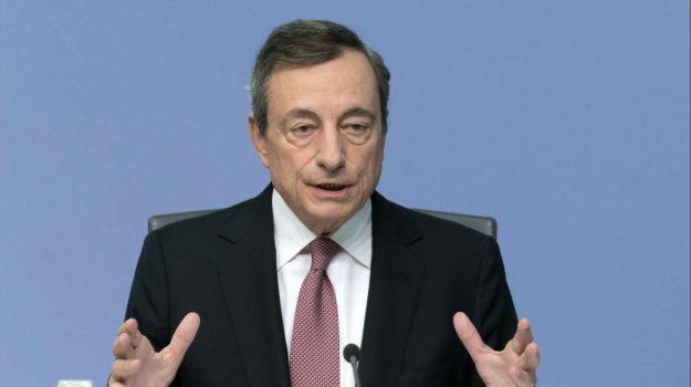 bce, tassi, Mario Draghi, Sicilia, Economia