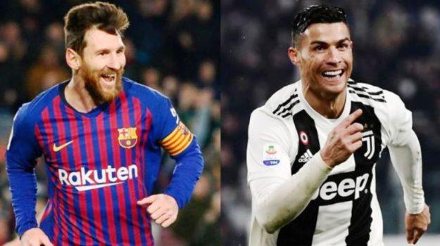 calcio, pallone d'oro, Cristiano Ronaldo, Leo Messi, Sicilia, Sport