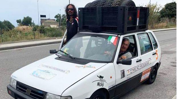 pilota rally, Sicilia-Mongolia in auto, Diego Scotti, Natale Mirabile, Sicilia, Società