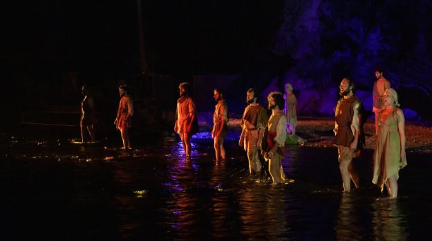 odissea, spettacolo Gole dell'Alcantara, Giovanni Anfuso, Nello Toscano, Messina, Sicilia, Cultura