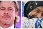 Colloquio dallo Spazio, Brad Pitt parlerà con Luca Parmitano