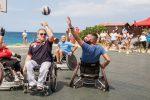 """A Milazzo il """"Parolimparty"""", la convention di sport per disabili in spiaggia - Foto"""