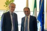 Catanzaro, il sindaco Abramo incontra il nuovo presidente del Tar Calabria