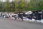 A Reggio è sempre emergenza rifiuti, Ciccarello sommerso da spazzatura