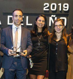 """Messico, il premio """"Obra dell'anno 2019"""" all'ingegnere di Longi Saverio Pidalà"""