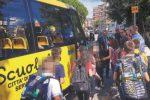 Reggio, l'anno inizia con 10 nuovi scuolabus