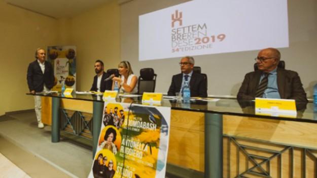 settembre rendese, Antonella Ruggiero, Franco Rossi, Giorgio Conte, Marcello Manna, Marco Verteramo, Cosenza, Calabria, Cultura