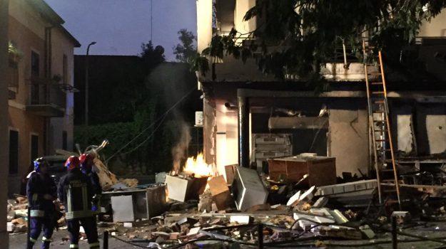 esplosione polistena, polistena, Reggio, Calabria, Cronaca