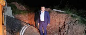 Il sopralluogo del sindaco di Messina alla condotta