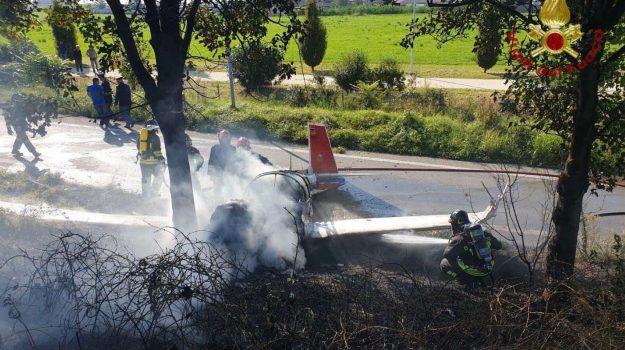 incidente aereo Bergamo, Sicilia, Cronaca