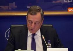 "Bce, Draghi: ""Chi ha spazio bilancio spenda, chi ha debito sia prudente"" Le parole del presidente della Bce - Agenzia Vista/Alexander Jakhnagiev"