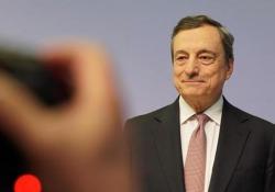 Bce, Draghi: «Taglio dei tassi di interesse su depositi al -0,50%» Le parole del presidente della Bce - Agenzia Vista/Alexander Jakhnagiev