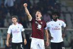 Ribaltone Belotti in quattro minuti, il Torino affossa il Milan