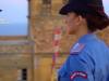 A bordo dell'elicottero dei carabinieri per sorvolare il castello di Pizzo - Video