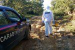 Cadavere carbonizzato su un'auto, giallo nelle campagne di San Giovanni di Gerace