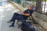 Dopo lo striscione al Duomo di Messina, torna a protestare l'ex brigadiere Scardigno