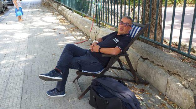 protesta, Salvatore Scardigno, Messina, Sicilia, Cronaca