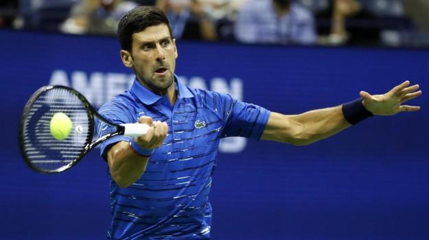 tennis, us open, Novak Djokovic, Sicilia, Sport
