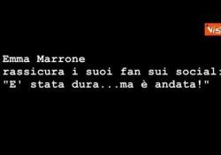 Emma Marrone rassicura i fan: «È stata dura... ma è andata» La cantante sui social - Agenzia Vista/Alexander Jakhnagiev