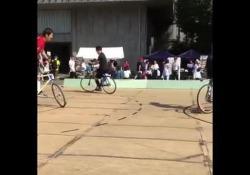 Giappone, ecco il calcio in bici In Giappone si sta diffondendo un ibrido spettacolare tra i due sport - Dalla Rete