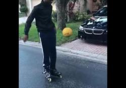 La tecnica è sopraffina: palleggia con i pattini a rotelle Fabrice Rémy è un giovane calciatore che su Instagram mostra le sue doti tecniche - Dalla Rete
