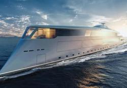 Lo spettacolare yacht che funziona ad «acqua» Al Monaco Yacht Show è stato presentato il concept della futuristica imbarcazione da 112 metri alimentata a idrogeno - CorriereTV