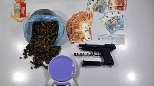 arresto, droga, marijuana, Messina, Sicilia, Cronaca