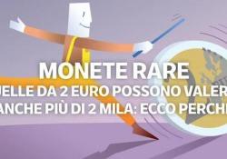 Monete rare da 2 euro: alcune arrivano a valerne anche 2 mila Sono 8 i tagli delle monete euro attualmente in circolazione nei 19 Paesi (tra i 28 della Ue) che hanno aderito all'Unione economica e monetaria. - Corriere Tv