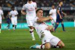 Un brutto Milan piega il Verona, decide Piatek su rigore